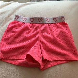 JUMPING BEAN neon pink shorts